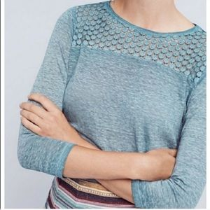 Anthropologie Top by Akemi and Kin